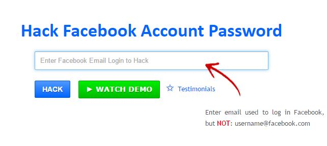 Sneaky Ways to Hack Someone's Facebook Account